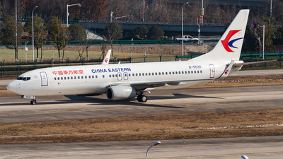 A picture of B5530 - Boeing 73789P - China Eastern Airlines - © SnowMiku39