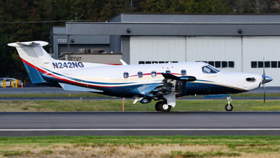 A picture of N242NG - Pilatus PC12/47E - [1242] - © C. v. Grinsven