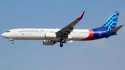 PK-CMP - Boeing 737-9LFER - Sriwijaya Air