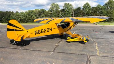 N6620H - Piper J-3C-65 Cub - Private