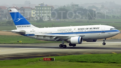 9K-ALD - Airbus A310-308 - Kuwait - Government