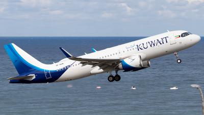 9K-AKM - Airbus A320-251N - Kuwait Airways