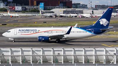 XA-EBN - Boeing 737-8JP - Aeromexico