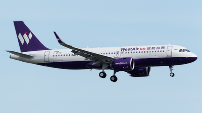 F-WWID - Airbus A320-271N - China West Air