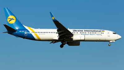 UR-UIB - Boeing 737-8KV - Ukraine International Airlines