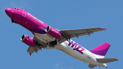 HA-LYV - Airbus A320-232 - Wizz Air