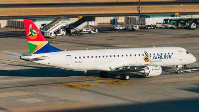 ZS-YAJ - Embraer 190-100IGW - Airlink