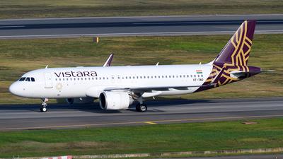 VT-TNQ - Airbus A320-251N - Vistara