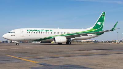A picture of YIASJ - Boeing 73781Z - Iraqi Airways - © Oleksandr Smerychansky