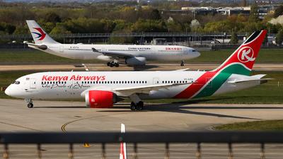 A picture of 5YKZA - Boeing 7878 Dreamliner - Kenya Airways - © subing27