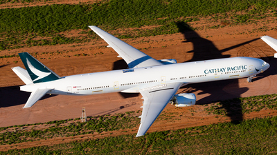 A picture of BHNX - Boeing 77731H - Cathay Pacific - © Joel Baverstock