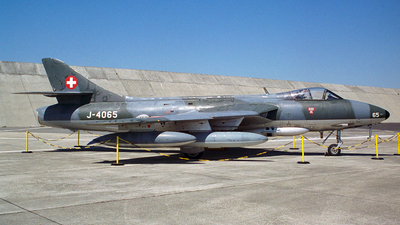 J-4065 - Hawker Hunter F.58 - Switzerland - Air Force