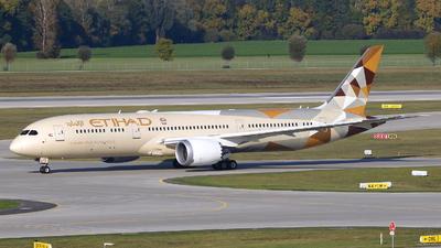 A6-BLY - Boeing 787-9 Dreamliner - Etihad Airways
