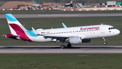 A picture of DAEWR - Airbus A320214 - Eurowings - © Sascha Kamrau