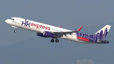 B-LEE - Airbus A321-231 - Hong Kong Express