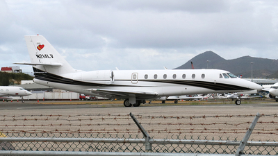N214LV - Cessna 680 Citation Sovereign - Private
