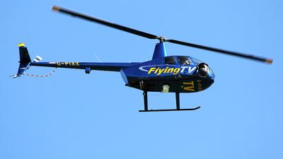 G-PIXX - Robinson R44 Raven II Newscopter - Flying TV