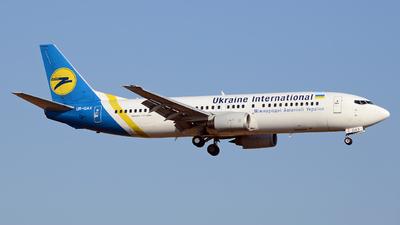 UR-GAX - Boeing 737-4Y0 - Ukraine International Airlines
