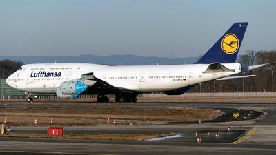 A picture of DABYN - Boeing 747830 - Lufthansa - © Sebastian Thiel