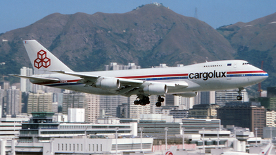 LX-ECV - Boeing 747-271C - Cargolux Airlines International