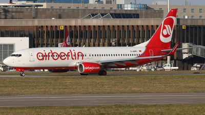D-ABMU - Boeing 737-86J - Air Berlin