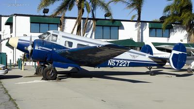 N5722T - Beech G18S - Trans Islands Air