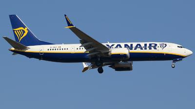 A picture of EIHEZ - Boeing 737 MAX 8200 - Ryanair - © Francesco Palla