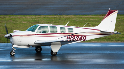 N1234Q - Beech A36 Bonanza - Private