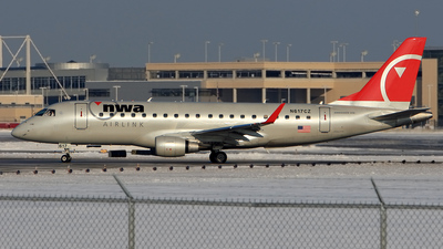N617CZ - Embraer 170-200LR - Northwest Airlink (Compass Airlines)
