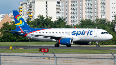A picture of N637NK - Airbus A320232 - Spirit Airlines - © Carlos Nieves