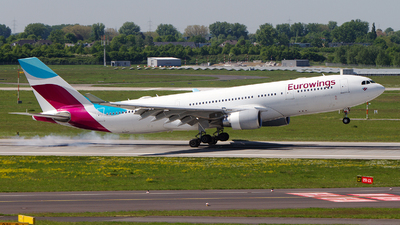 D-AXGB - Airbus A330-203 - Eurowings