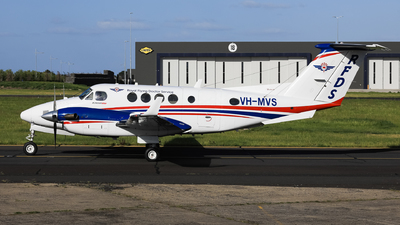 VH-MVS - Beechcraft 200 Super King Air - Royal Flying Doctor Service of Australia (SE Section)