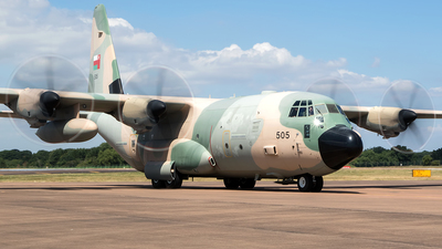 505 - Lockheed Martin C-130J Hercules - Oman - Royal Air Force