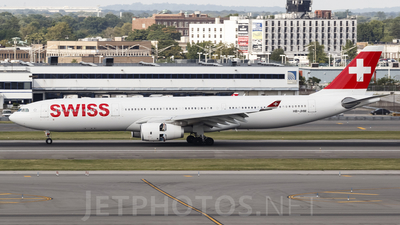 HB-JHM - Airbus A330-343 - Swiss
