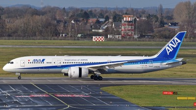 A picture of JA837A - Boeing 7879 Dreamliner - All Nippon Airways - © Jan Heinrich