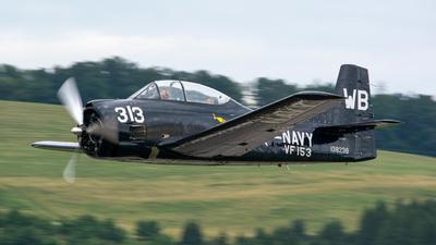 A picture of N313WB - North American T28B Trojan - [138238] - © Marcin Tomasz Wierzbicki