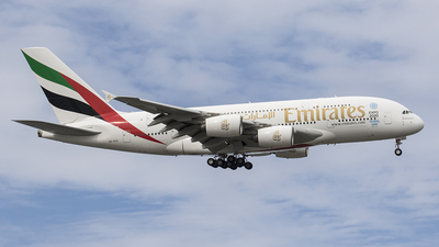 A6-EEO - Airbus A380-861 - Emirates