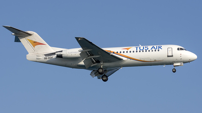 5B-DDF  - Fokker 70 - Tus Airways