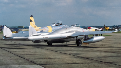 SE-DXY - De Havilland Vampire FB.6 - Scandinavian Historic Flight