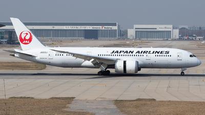 JA832J - Boeing 787-8 Dreamliner - Japan Airlines (JAL)