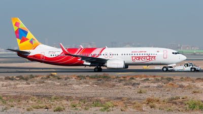 VT-GHB - Boeing 737-86N - Air India Express