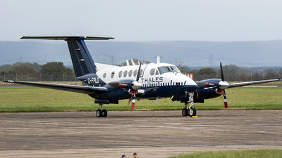 A picture of GFPLD - Beech B200 Super King Air - Cobham Flight Inspection - © Charles Cunliffe