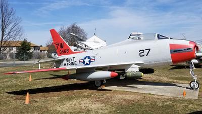143568 - North American FJ-4B Fury - United States - US Navy (USN)