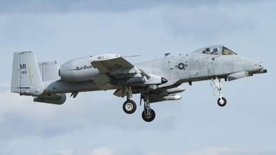 80-0163 - Fairchild A-10C Thunderbolt II - United States - US Air Force (USAF)