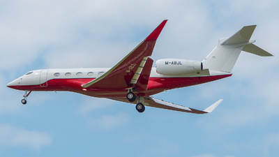 M-ABJL - Gulfstream G650 - Private