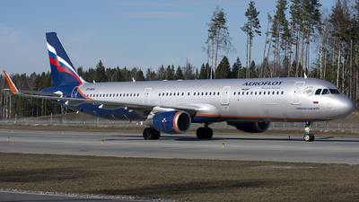 A picture of VPBEG - Airbus A321211 - Aeroflot - © SN7756