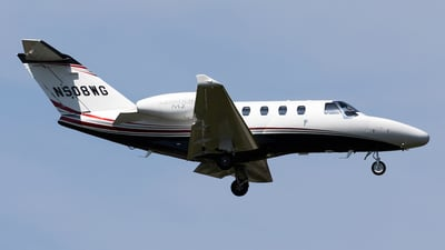 N508WG - Cessna 525 CitationJet - Private