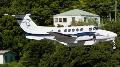 N484BQ - Beechcraft 200 Super King Air - Bequia Air (One Caribbean Airlines)