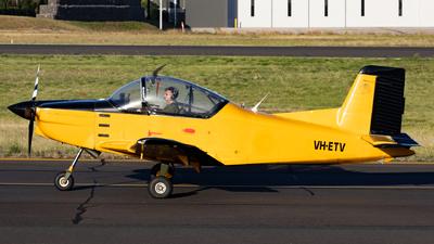VH-ETV - Pacific Aerospace CT-4E Airtrainer - Private