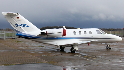 D-IWIL - Cessna 525 CitationJet 1 - Private